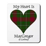 Heart - MacGregor of Cardney Mousepad