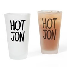 HOT JON Drinking Glass