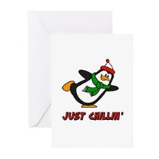 Just Chillin' Chilly Willy Greeting Cards (Pk of 1