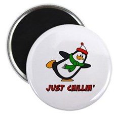 "Just Chillin' Chilly Willy 2.25"" Magnet (10 pack)"