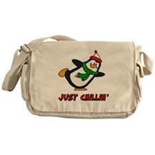 Just Chillin' Chilly Willy Messenger Bag