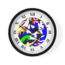 Diego Garcia Birds Wall Clock