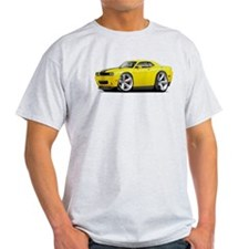 Challenger SRT8 Yellow Car T-Shirt