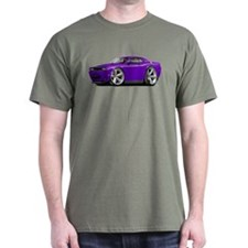 Challenger SRT8 Purple Car T-Shirt
