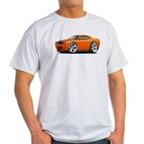Challenger SRT8 Orange Car  T-Shirt
