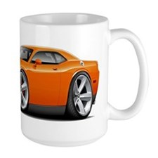 Challenger SRT8 Orange Car Mug