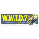 W.W.T.D.? Car Sticker