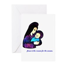 Jesus is the reason... Greeting Cards (Pk of 20)