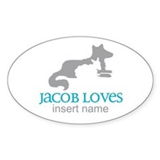 Jacob Loves Decal