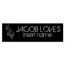 Jacob Loves Bumper Sticker
