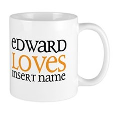 Edward Loves Coffee Mug