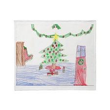 Merry Christmas from Josh Throw Blanket