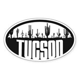 Tucson AZ Flag Decal
