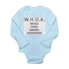 WHOA Long Sleeve Infant Bodysuit