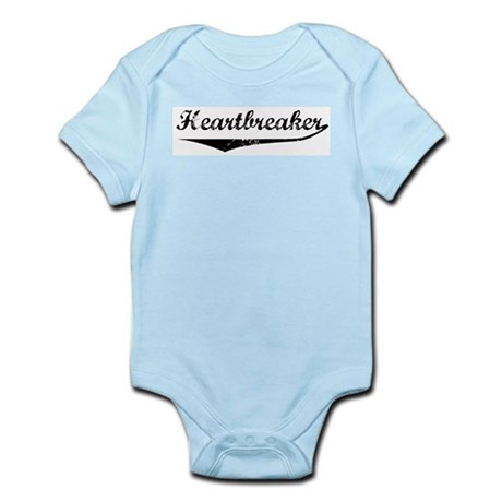 Vintage Heartbreaker Infant Creeper