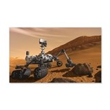 Mars Science Laboratory 22x14 Wall Peel