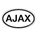 Ajax Oval Sticker