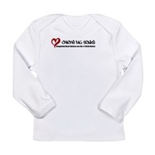 Chicks Dig Scars Long Sleeve Infant T-Shirt