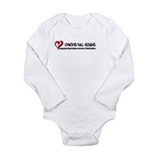 Chicks Dig Scars Long Sleeve Infant Bodysuit