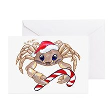 Christmas Ghost Crab Greeting Cards (Pk of 10)