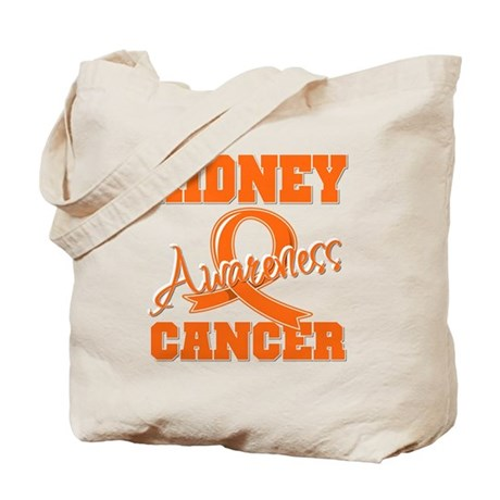 Kidney Cancer Awareness Tote Bag