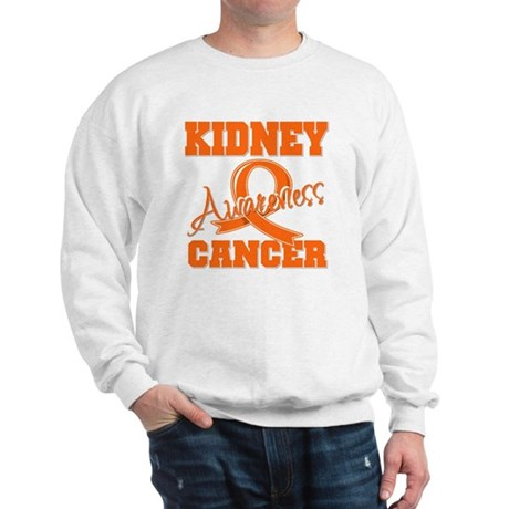 Kidney Cancer Awareness Sweatshirt