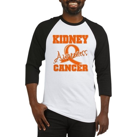 Kidney Cancer Awareness Baseball Jersey