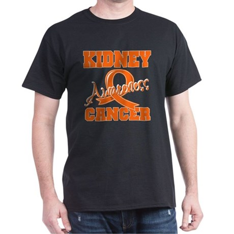 Kidney Cancer Awareness Dark T-Shirt