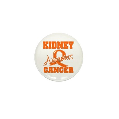 Kidney Cancer Awareness Mini Button