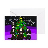 Catholic Nuns Christmas Greeting Card