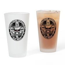 USN Operations Specialist Sku Drinking Glass