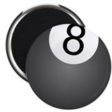 "8 Ball Design 2.25"" Magnet (100 pack)"