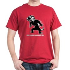 Honey Badger Wants Coffee T-Shirt