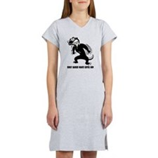 Honey Badger Wants Coffee Women's Nightshirt