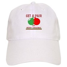 Say Merry Christmas Baseball Cap