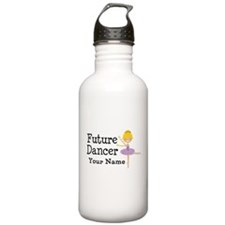 Personalized Future Dancer Water Bottle