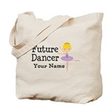 Personalized Future Dancer Tote Bag