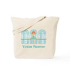 Custom Ballet Dancer Tote Bag