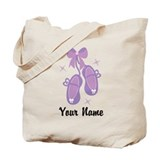 Customized Ballet Slippers Tote Bag