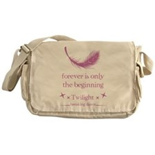 Forever is only the beginning Messenger Bag