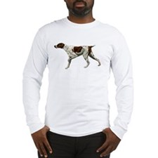 german shorthair pointing Long Sleeve T-Shirt