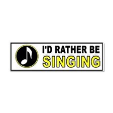 Cute Stage Car Magnet 10 x 3