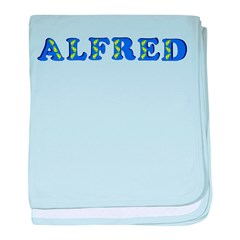 Alfred baby blanket