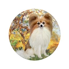 "Spring / Papillon 3.5"" Button"