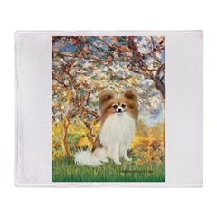 Spring / Papillon Throw Blanket