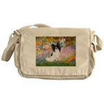 Garden & Papillon Messenger Bag