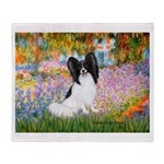 Garden & Papillon Throw Blanket
