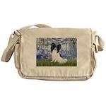 Lilies (#6) & Papillon Messenger Bag
