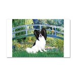 Bridge & Papillon Car Magnet 20 x 12