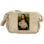 Mona /Pekingese (w) Messenger Bag